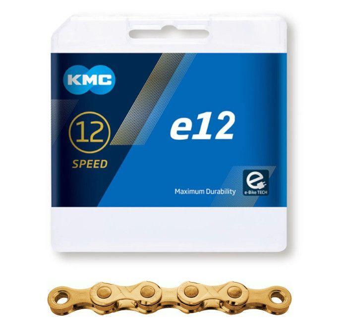 ŘETĚZ KMC E12  ZLATÝ BOX
