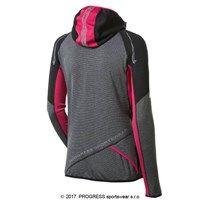 ... kapucí - XL-černá černý melír růžová. VICTORIA dámská běžecká mikina  VICTORIA dámská běžecká mikina VICTORIA dámská běžecká mikina ... c86c9d887b