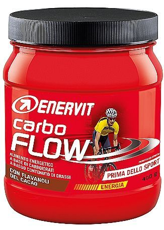 ENERVIT CARBO FLOW 400g KAKAO
