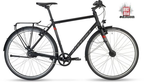 STEVENS 2020 CITY FLIGHT BIKE BILD EDITION ČERNÁ - 55cm